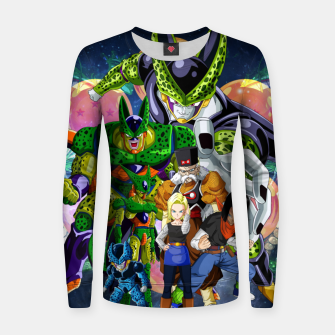 Miniatur DBZ Androids Women sweater, Live Heroes
