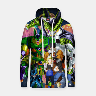 Miniatur DBZ Androids Hoodie, Live Heroes