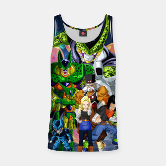 Miniatur DBZ Androids Tank Top, Live Heroes