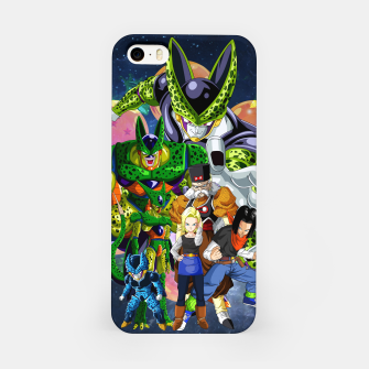 Miniatur DBZ Androids iPhone Case, Live Heroes