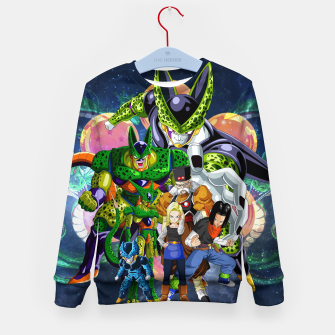 Miniatur DBZ Androids Kid's sweater, Live Heroes