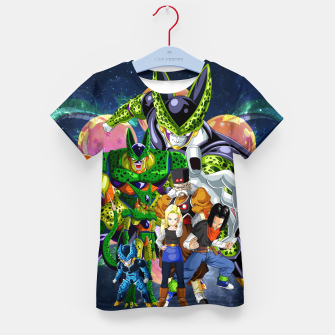Thumbnail image of DBZ Androids Kid's t-shirt, Live Heroes