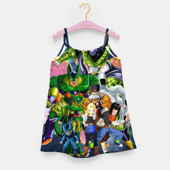 Miniatur DBZ Androids Girl's dress, Live Heroes