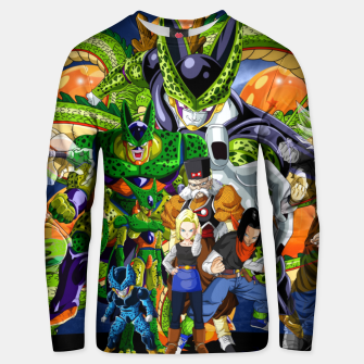 Thumbnail image of Dragon Ball Z cell saga Unisex sweater, Live Heroes