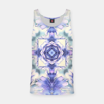 Thumbnail image of Nature mandala ethereal blue and white Tank Top, Live Heroes