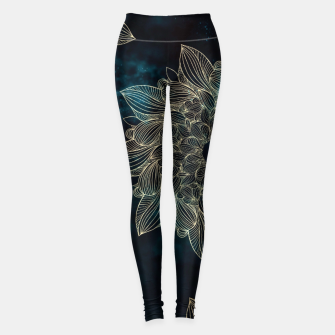 Miniaturka Modern night mandala Leggings, Live Heroes
