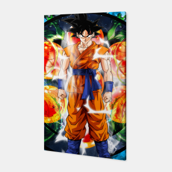 Thumbnail image of Goku Powering Up Canvas, Live Heroes