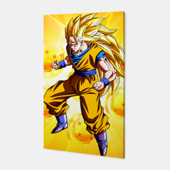 Thumbnail image of Goku Super Saiyan 3 Canvas, Live Heroes
