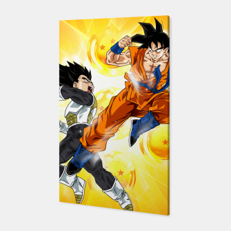 Thumbnail image of Goku vs Vegeta II Canvas, Live Heroes