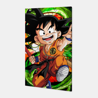 Thumbnail image of Kid Goku Canvas, Live Heroes