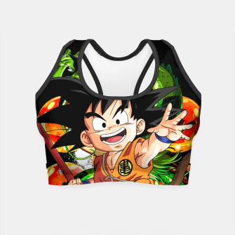 Thumbnail image of Kid Goku Crop Top, Live Heroes