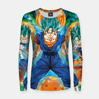 Thumbnail image of Vegeta and Goku turn Vegeto Women sweater, Live Heroes