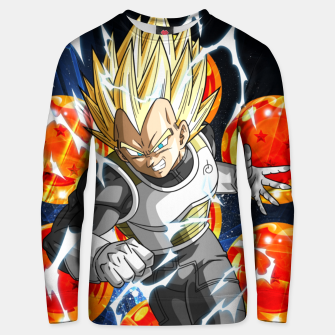 Thumbnail image of Vegeta Attacking Unisex sweater, Live Heroes