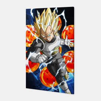 Thumbnail image of Vegeta Attacking Canvas, Live Heroes