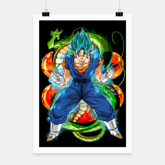 Thumbnail image of Vegeto Blue Poster, Live Heroes