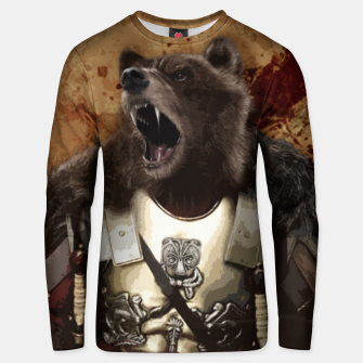 Thumbnail image of Bear in armor Bluza unisex, Live Heroes