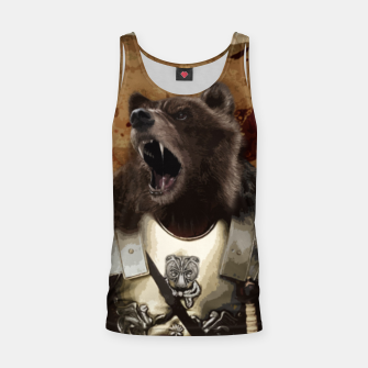 Thumbnail image of Bear in armor Tank Top, Live Heroes