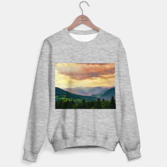 Thumbnail image of mountains Bluza standard, Live Heroes