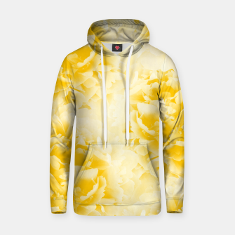 Thumbnail image of Yellow Peonies Dream #1 #floral #decor #art  Kapuzenpullover, Live Heroes