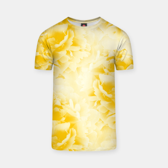 Thumbnail image of Yellow Peonies Dream #1 #floral #decor #art  T-Shirt, Live Heroes