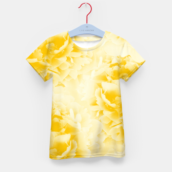 Thumbnail image of Yellow Peonies Dream #1 #floral #decor #art  T-Shirt für kinder, Live Heroes