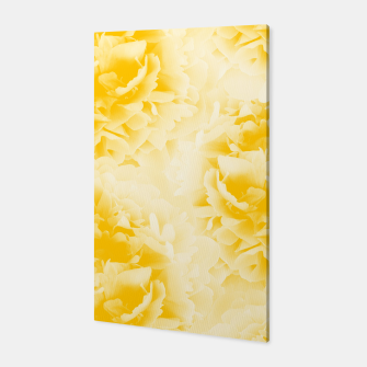 Thumbnail image of Yellow Peonies Dream #1 #floral #decor #art  Canvas, Live Heroes