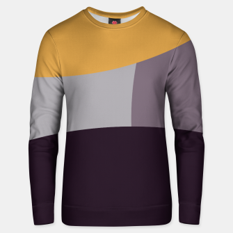 Thumbnail image of Purple and Gold IV Unisex sweater, Live Heroes