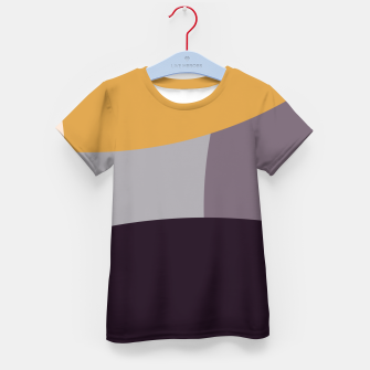 Thumbnail image of Purple and Gold IV Kid's t-shirt, Live Heroes