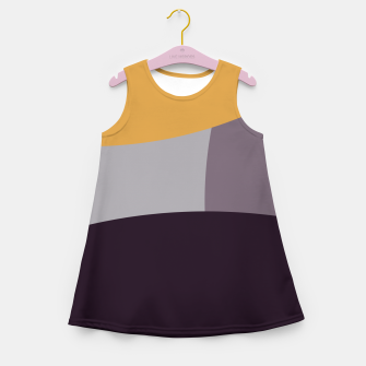 Thumbnail image of Purple and Gold IV Girl's summer dress, Live Heroes