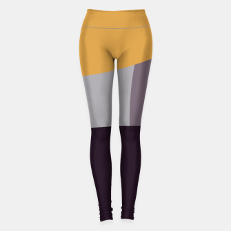 Thumbnail image of Purple and Gold IV Leggings, Live Heroes