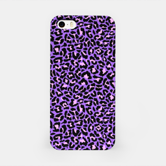 Thumbnail image of Neon leopard fur skin texture iPhone Case, Live Heroes