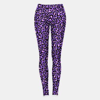 Thumbnail image of Neon leopard fur skin texture Leggings, Live Heroes