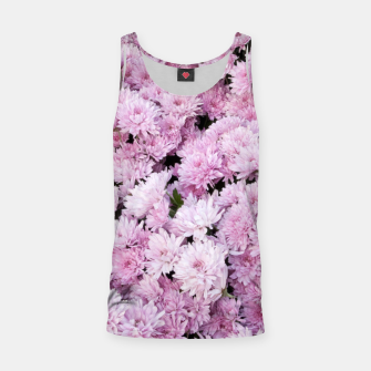Thumbnail image of A Sea of Light Pink Chrysanthemums #2 #floral #art Muskelshirt , Live Heroes