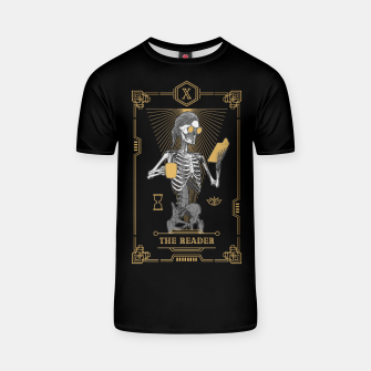 Thumbnail image of The Reader X Tarot Card T-shirt, Live Heroes