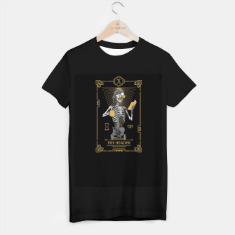 Thumbnail image of The Reader X Tarot Card T-shirt regular, Live Heroes