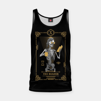 Thumbnail image of The Reader X Tarot Card Tank Top, Live Heroes
