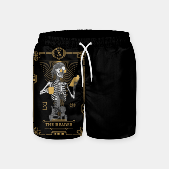 Thumbnail image of The Reader X Tarot Card Swim Shorts, Live Heroes