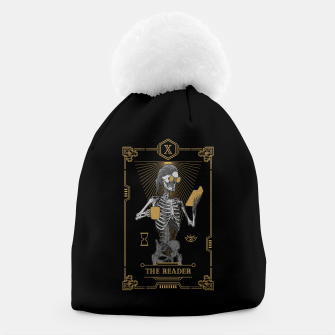 Thumbnail image of The Reader X Tarot Card Beanie, Live Heroes