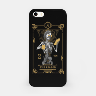 Thumbnail image of The Reader X Tarot Card iPhone Case, Live Heroes