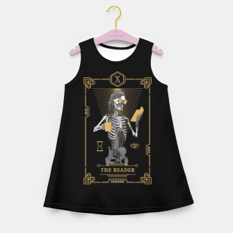 Thumbnail image of The Reader X Tarot Card Girl's summer dress, Live Heroes