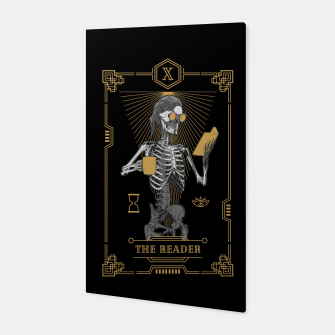 Thumbnail image of The Reader X Tarot Card Canvas, Live Heroes