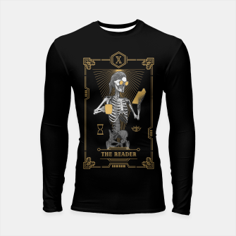Thumbnail image of The Reader X Tarot Card Longsleeve rashguard , Live Heroes