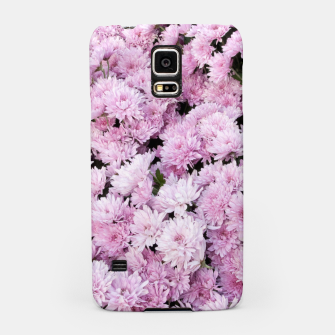 Thumbnail image of A Sea of Light Pink Chrysanthemums #2 #floral #art Handyhülle für Samsung, Live Heroes