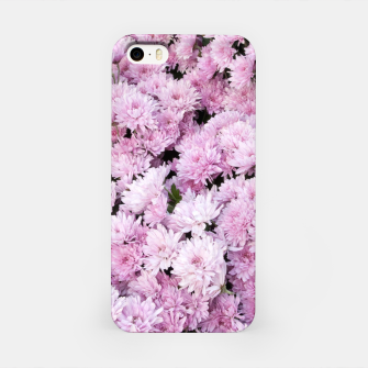 Thumbnail image of A Sea of Light Pink Chrysanthemums #2 #floral #art iPhone-Hülle, Live Heroes