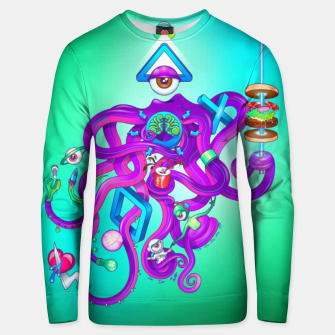 Thumbnail image of Octopus Unisex sweater, Live Heroes
