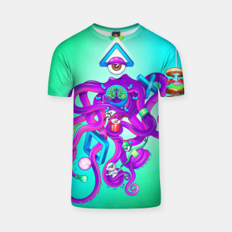 Thumbnail image of Octopus T-shirt, Live Heroes