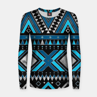 Aztec Ethnic Pattern Art Women sweater thumbnail image