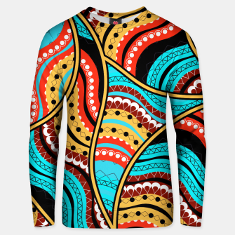Ethnic Tribal Pattern Art  Unisex sweater obraz miniatury