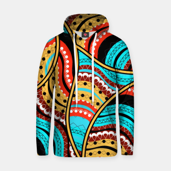 Ethnic Tribal Pattern Art  Hoodie obraz miniatury