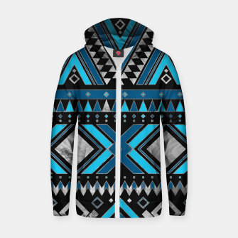 Aztec Ethnic Pattern Art Zip up hoodie thumbnail image